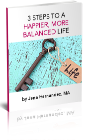 3 steps to a happier more balanced life